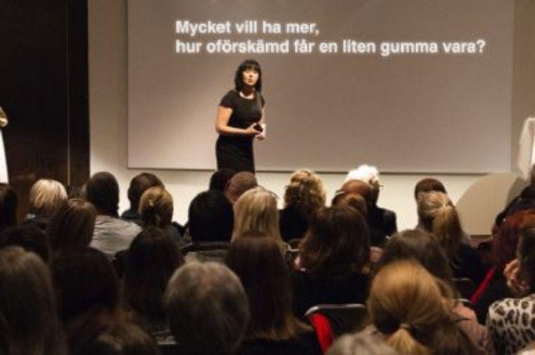 Mycket vill ha mer, hur oförskämd får en liten gumma vara? - en föreläsning om motivation och medmänsklighet i vården